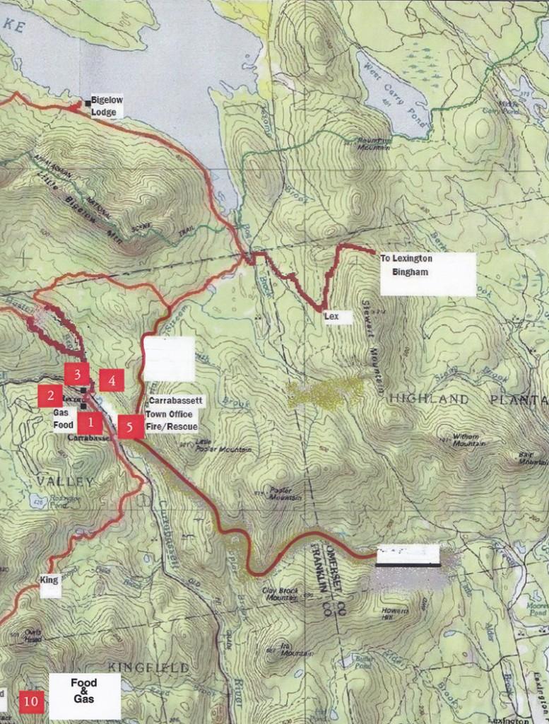 J V Wing Snowmobile Club - Northeast Snow Vast Snowmobile Trail Map on